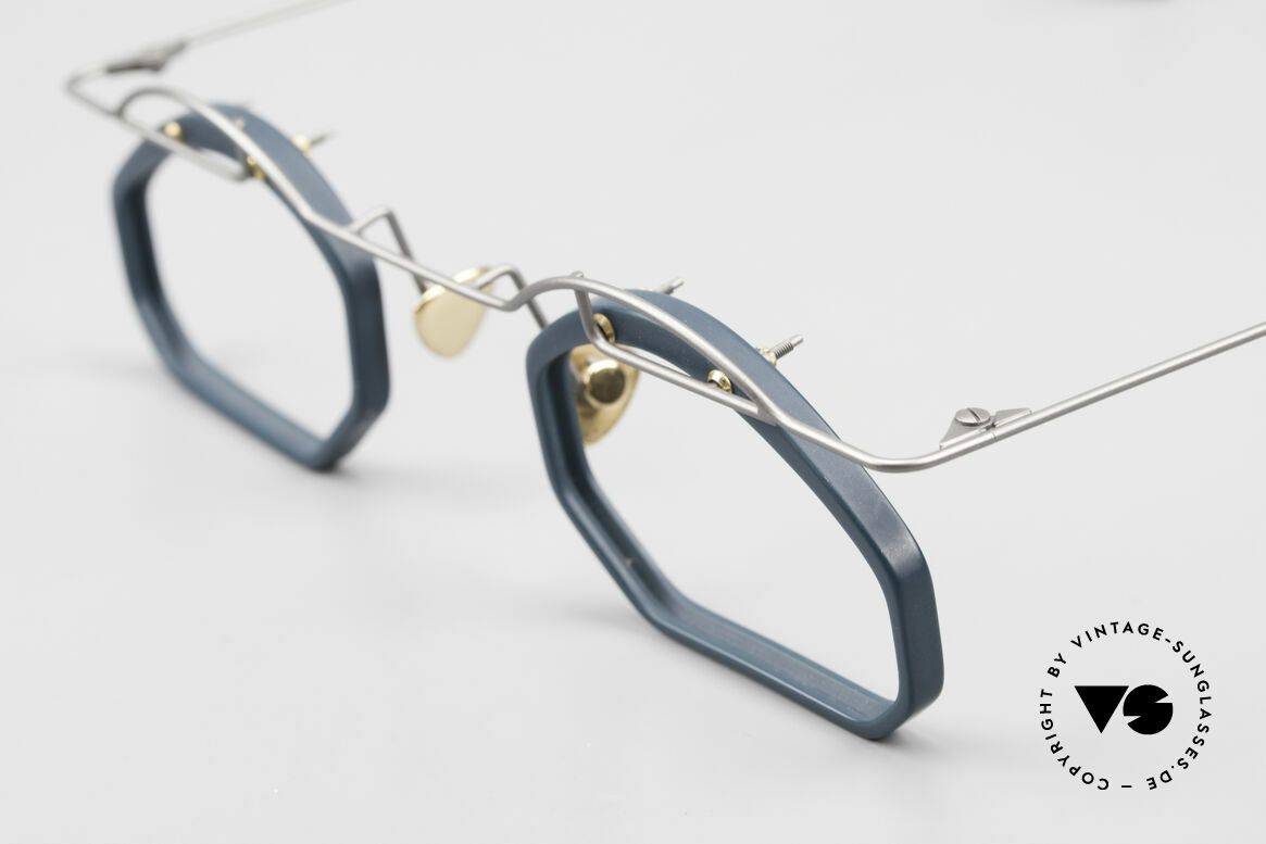 Paul Chiol 12 Art Designer Glasses Vintage, a rare and unworn masterpiece, made in Germany, Made for Men and Women