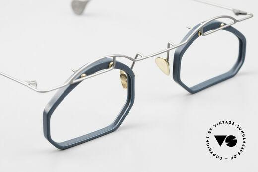 Paul Chiol 12 Art Designer Glasses Vintage, the frame can be glazed optionally (optical / sun), Made for Men and Women