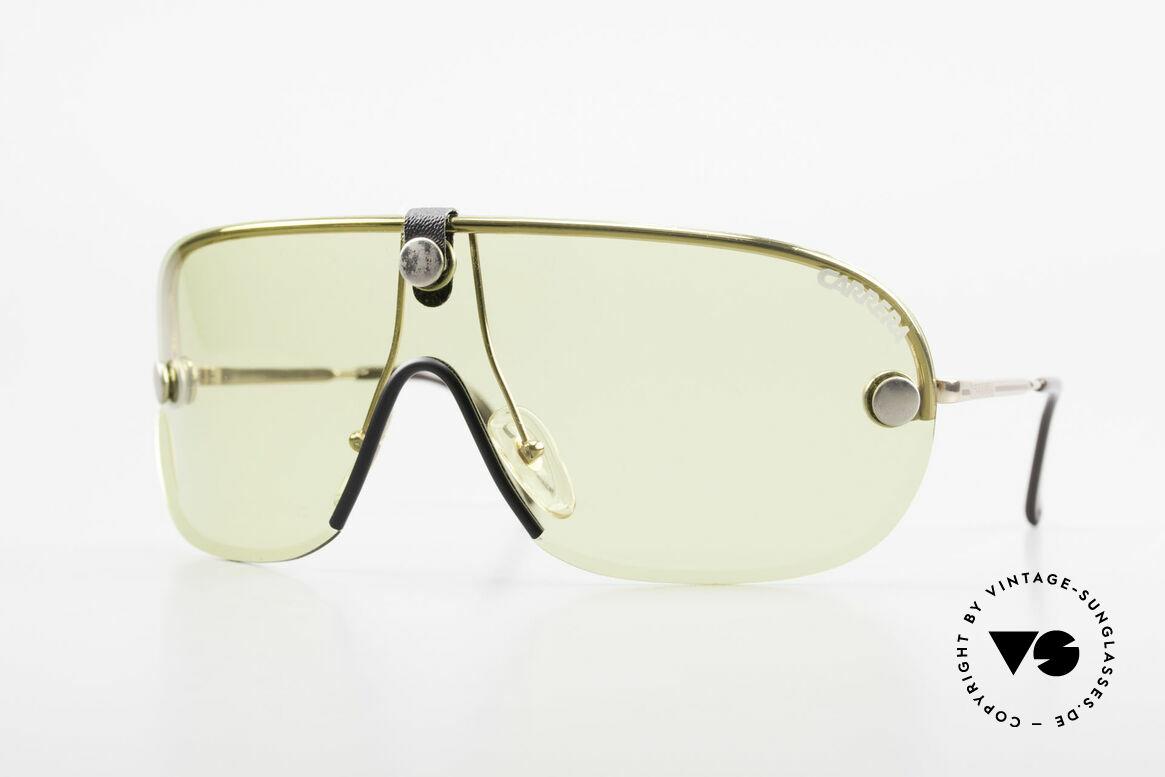 Carrera 5418 All Weather Sunglasses Polar, ultra rare VINTAGE Carrera sport's sunglasses from 1989, Made for Men