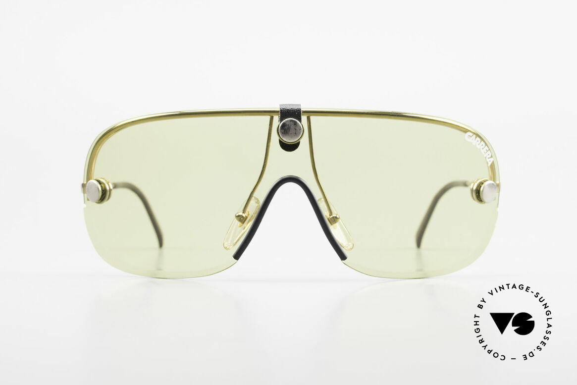 Carrera 5418 All Weather Sunglasses Polar, brilliant all weather shades with interchangeable lenses, Made for Men