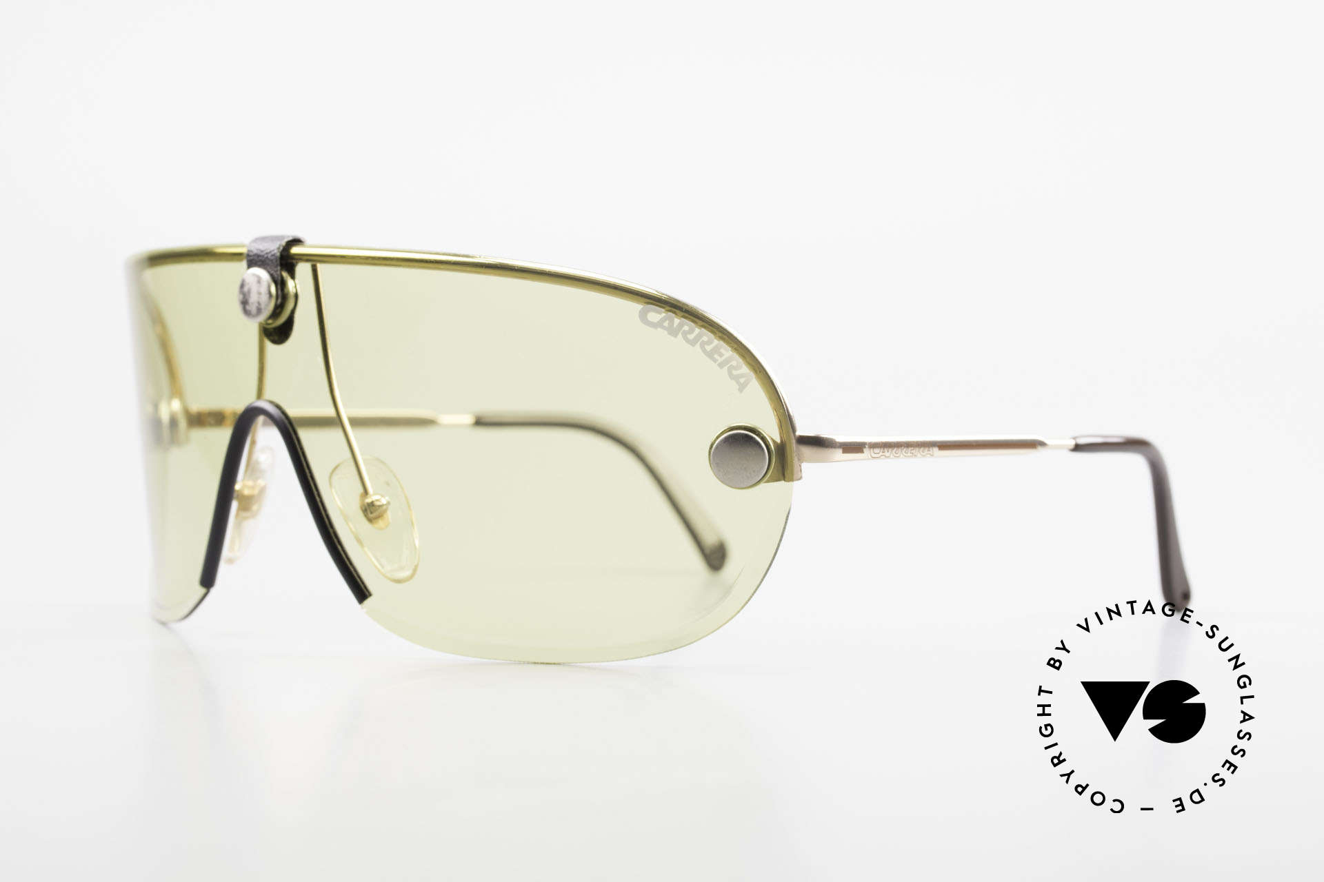 Carrera 5418 All Weather Sunglasses Polar, yellow (kalichrome) intensify light and increase contrast, Made for Men