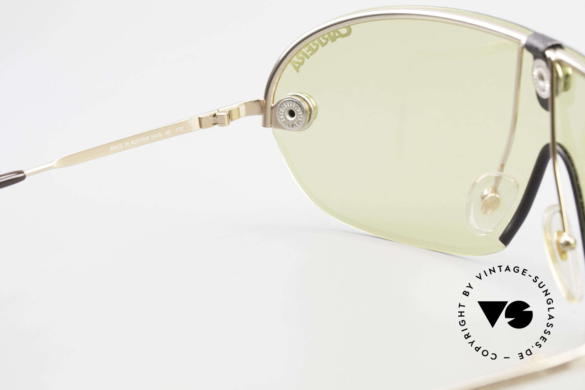 Carrera 5418 All Weather Sunglasses Polar, new old stock (like all our rare vintage sports sunglasses), Made for Men