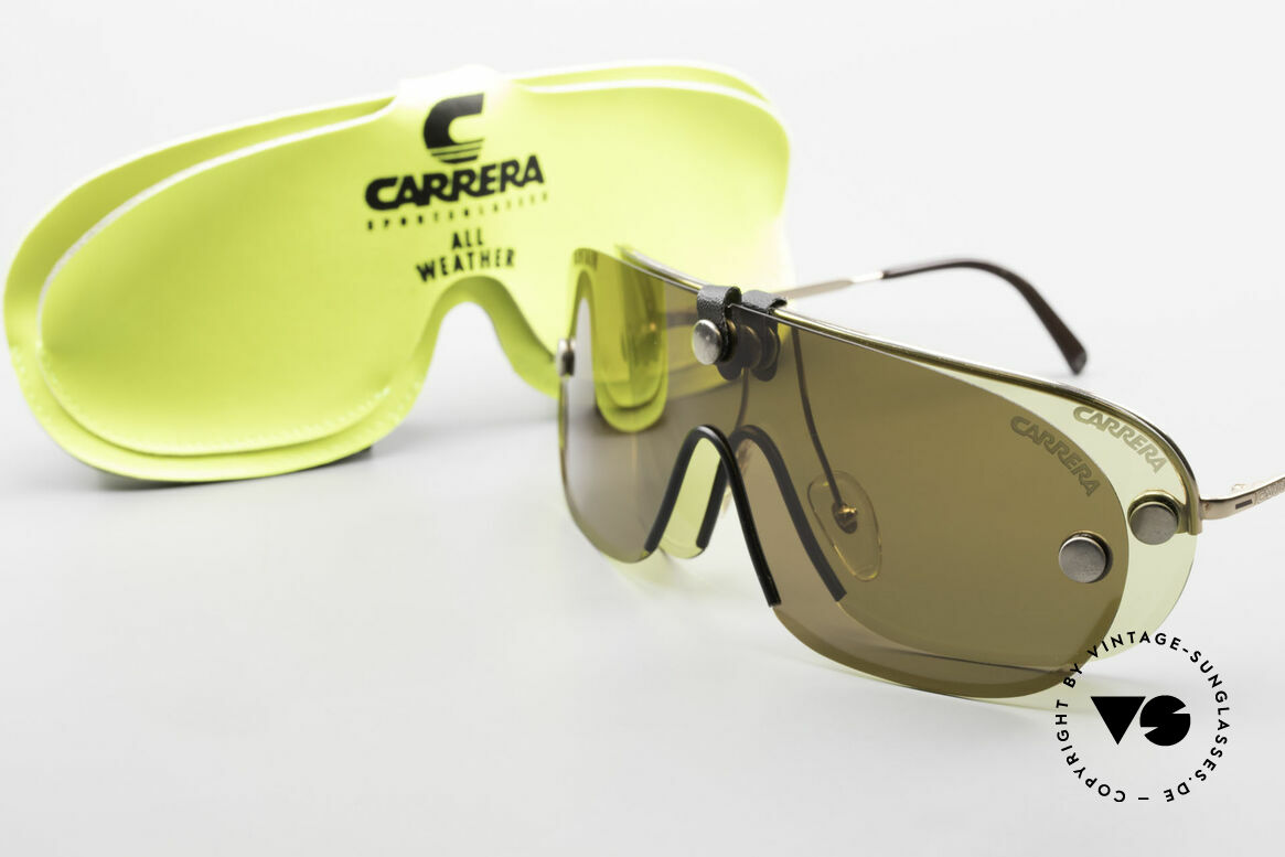 Carrera 5418 All Weather Sunglasses Polar, NO RETRO sunglasses, but an authentic OLD ORIGINAL!, Made for Men