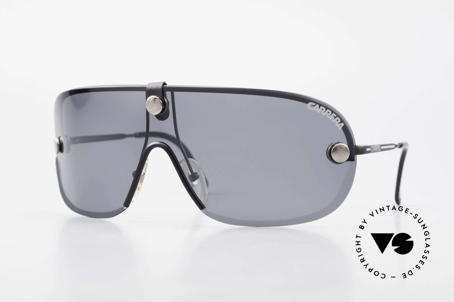 Carrera 5418 All Weather Shades Polarized, ultra rare VINTAGE Carrera sport's sunglasses from 1989, Made for Men