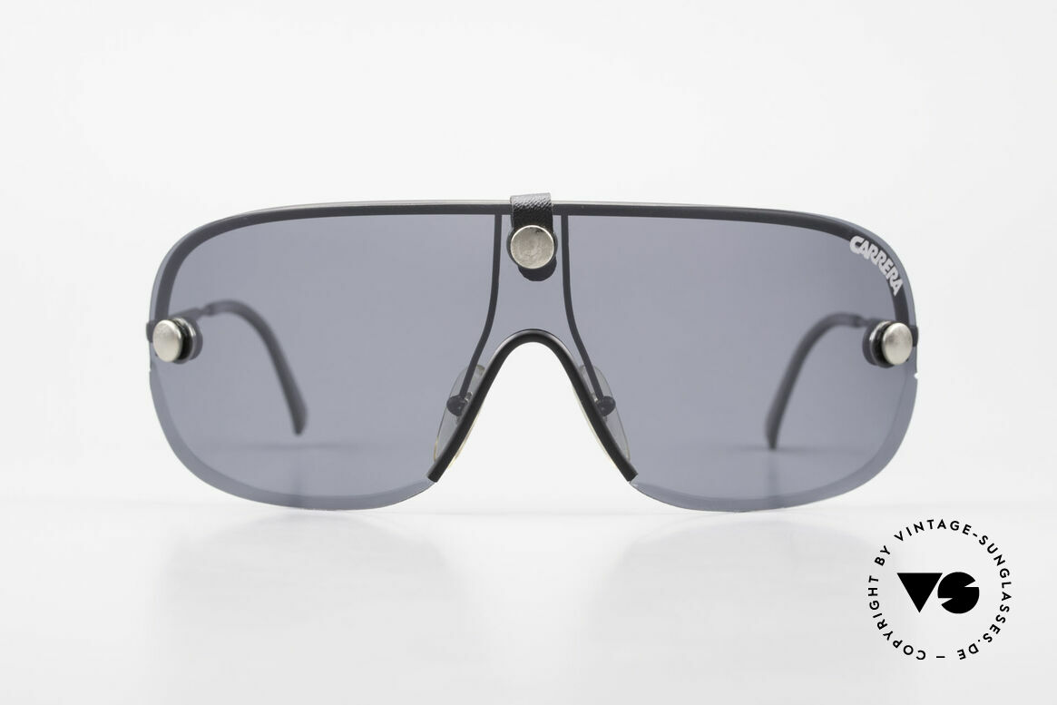 Carrera 5418 All Weather Shades Polarized, brilliant all weather shades with interchangeable lenses, Made for Men