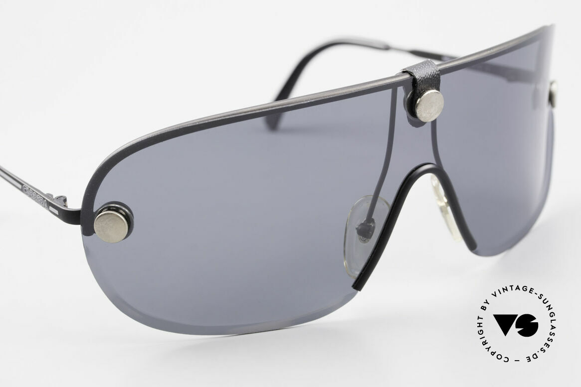 Carrera 5418 All Weather Shades Polarized, yellow lens wearable at dusk and bown lens at daytime, Made for Men