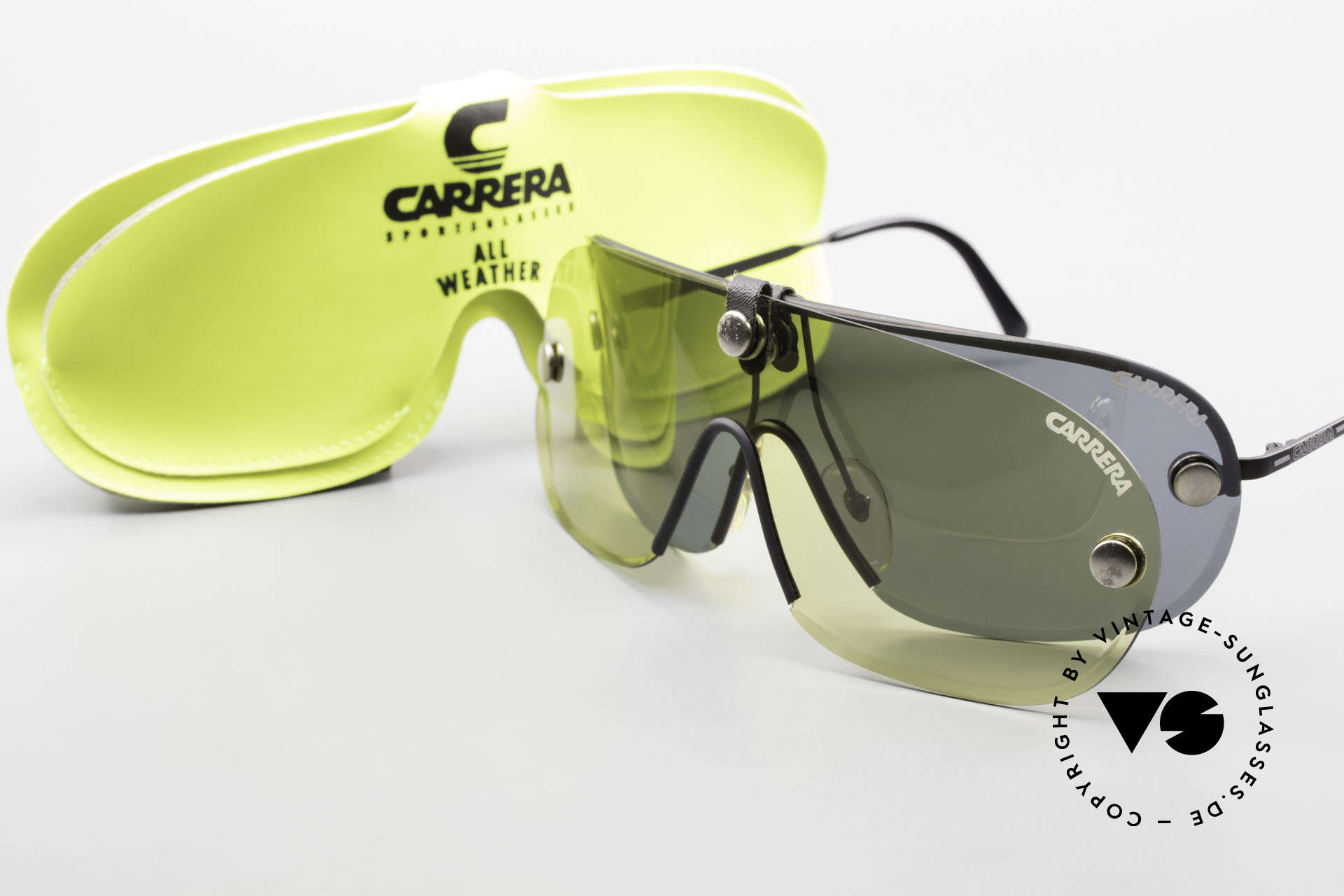 Carrera 5418 All Weather Shades Polarized, NO RETRO sunglasses, but an authentic OLD ORIGINAL!, Made for Men