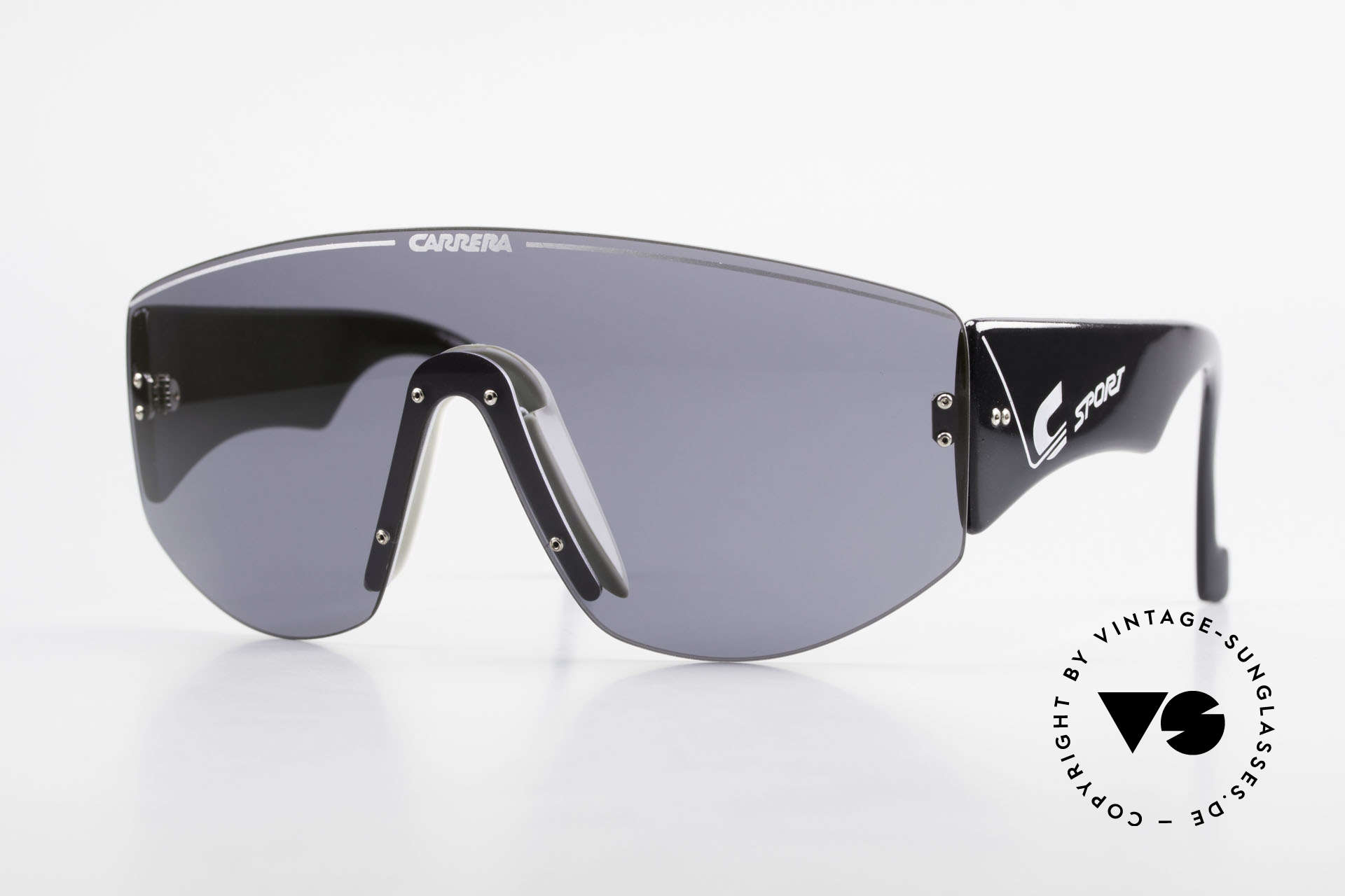 Carrera 5414 90's Sunglasses Sports Shades, vintage Carrera sport's sunglasses from the early 90's, Made for Men