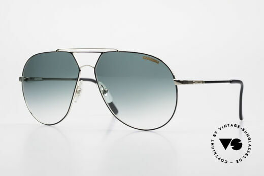 Carrera 5421 90's Aviator Sports Sunglasses Details