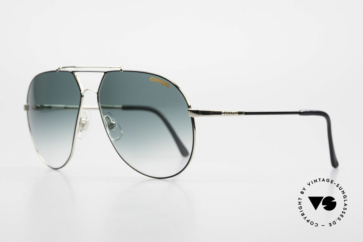 Carrera 5421 90's Aviator Sports Sunglasses, orig. Name: model 5421 Regatta, Sport Performance, Made for Men