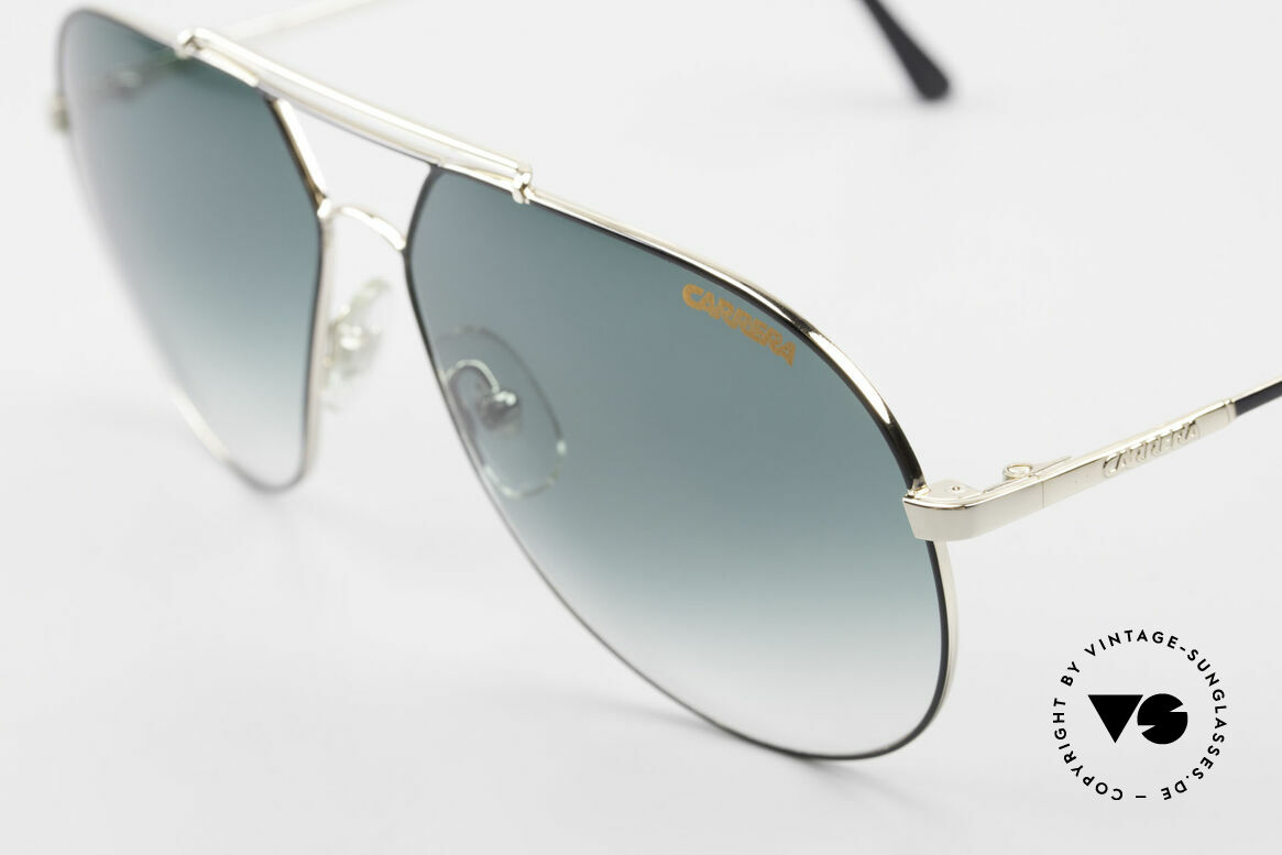 Carrera 5421 90's Aviator Sports Sunglasses, simply a timeless classic in top-quality; gold-plated!, Made for Men