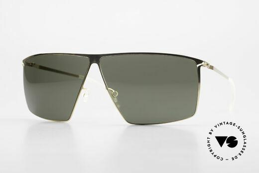 Mykita Amund 2010's Designer Sunglasses Men Details