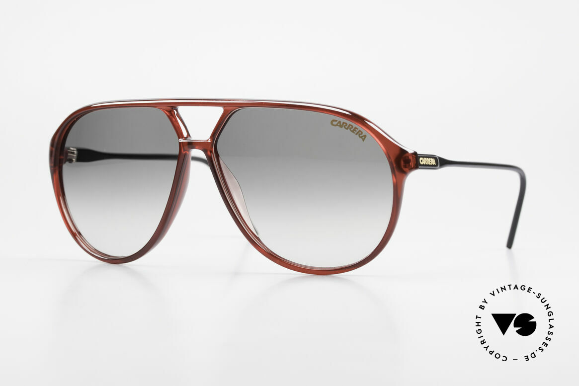 Carrera 5425 Robert De Niro Sunglasses 90's, vintage shades of the Carrera Collection from 1989/90, Made for Men