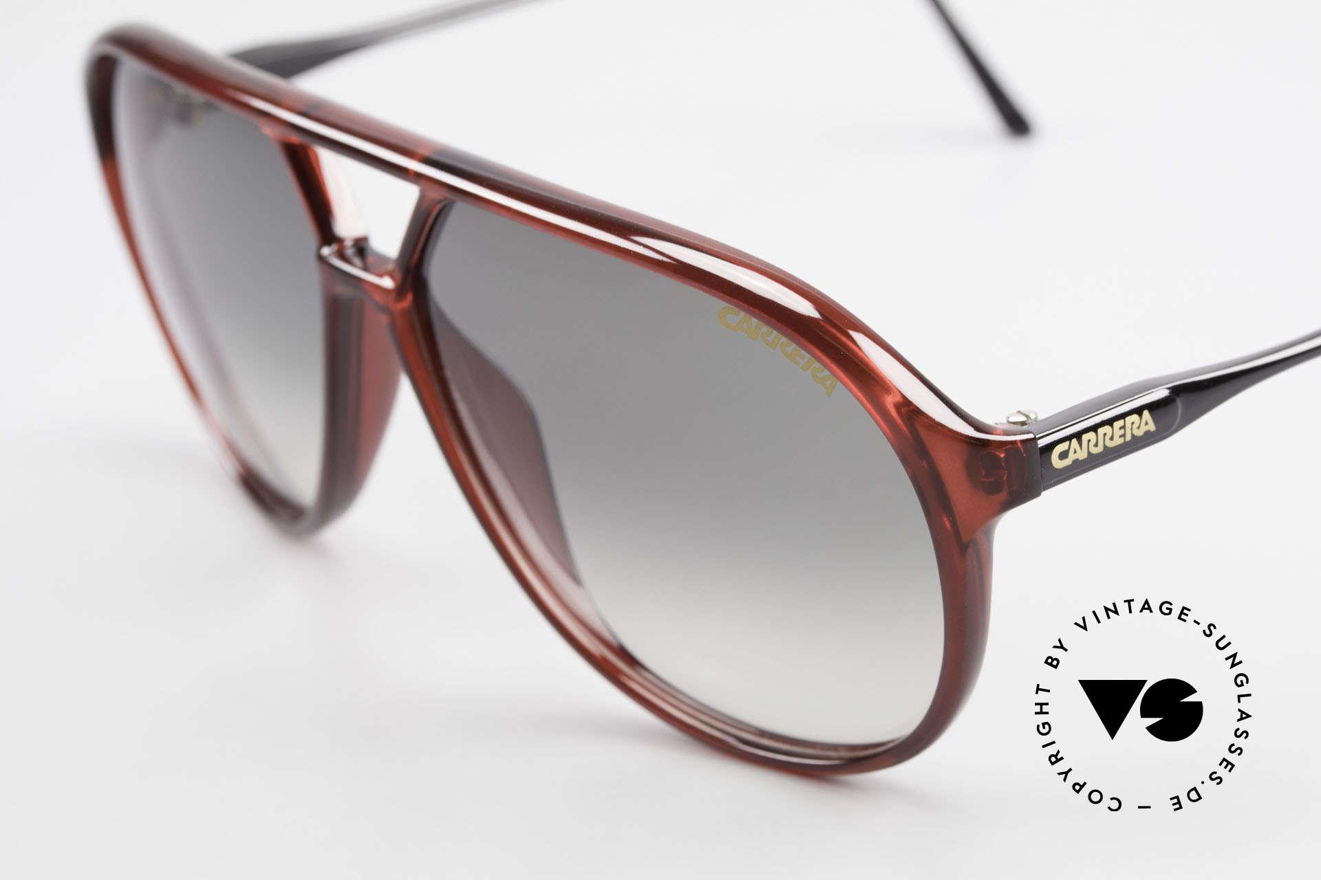 Carrera 5425 Robert De Niro Sunglasses 90's, 2 sets of lenses: 1x green gradient, 1x brown Ultrasight, Made for Men