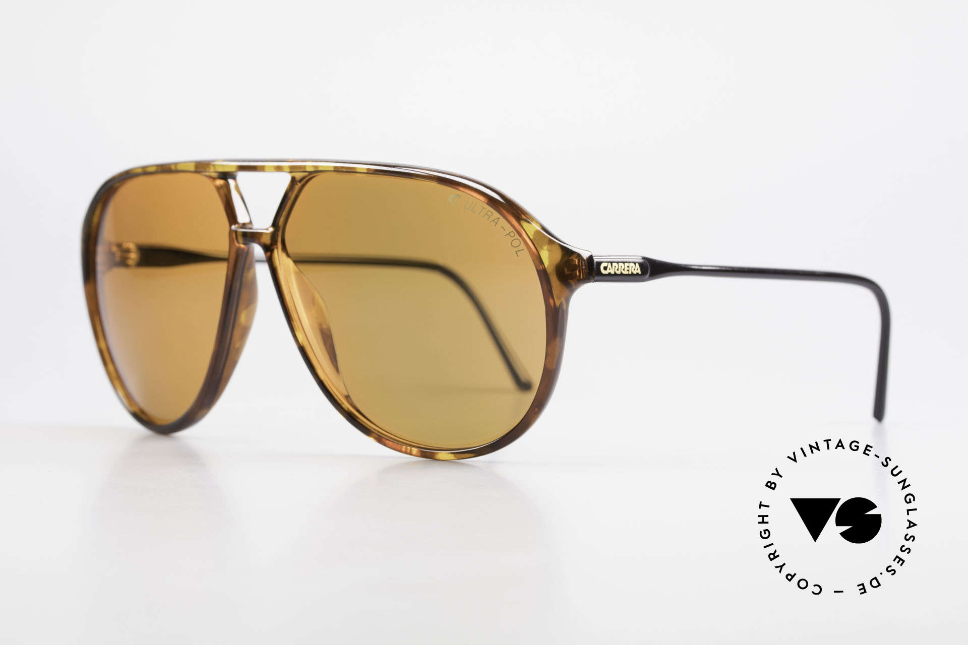 Carrera 5425 Polarized Sunglasses Aviator, sporty and functional design as quality characteristic, Made for Men