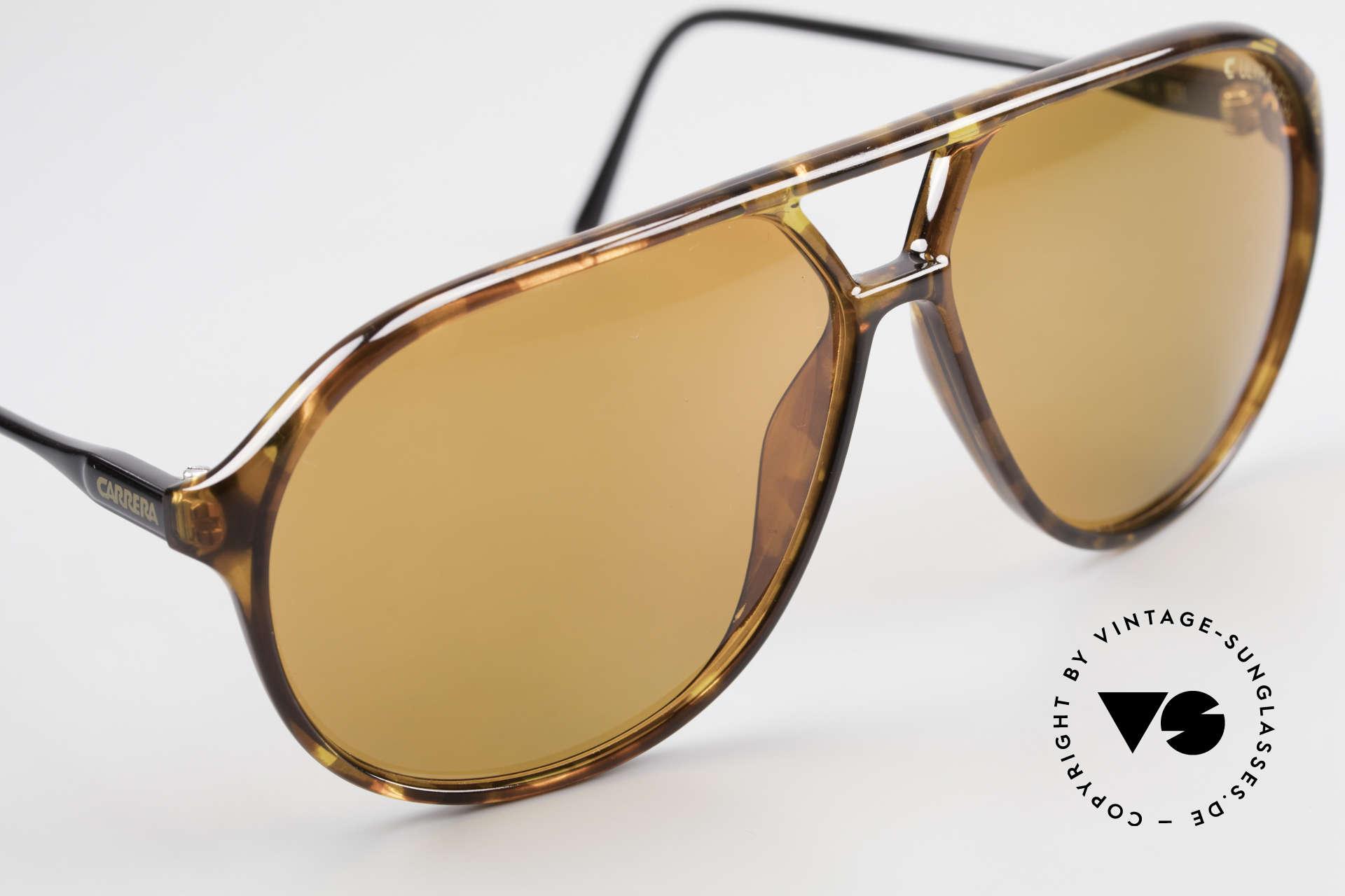 Carrera 5425 Polarized Sunglasses Aviator, unworn, NOS (like all our rare vintage 80's sunglasses), Made for Men