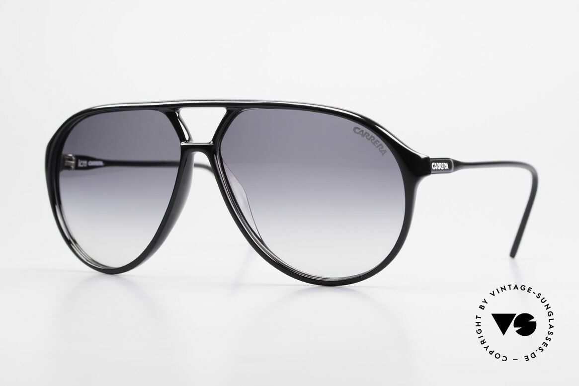 Carrera 5425 80's Shades With Extra Lenses, vintage shades of the Carrera Collection from 1989/90, Made for Men