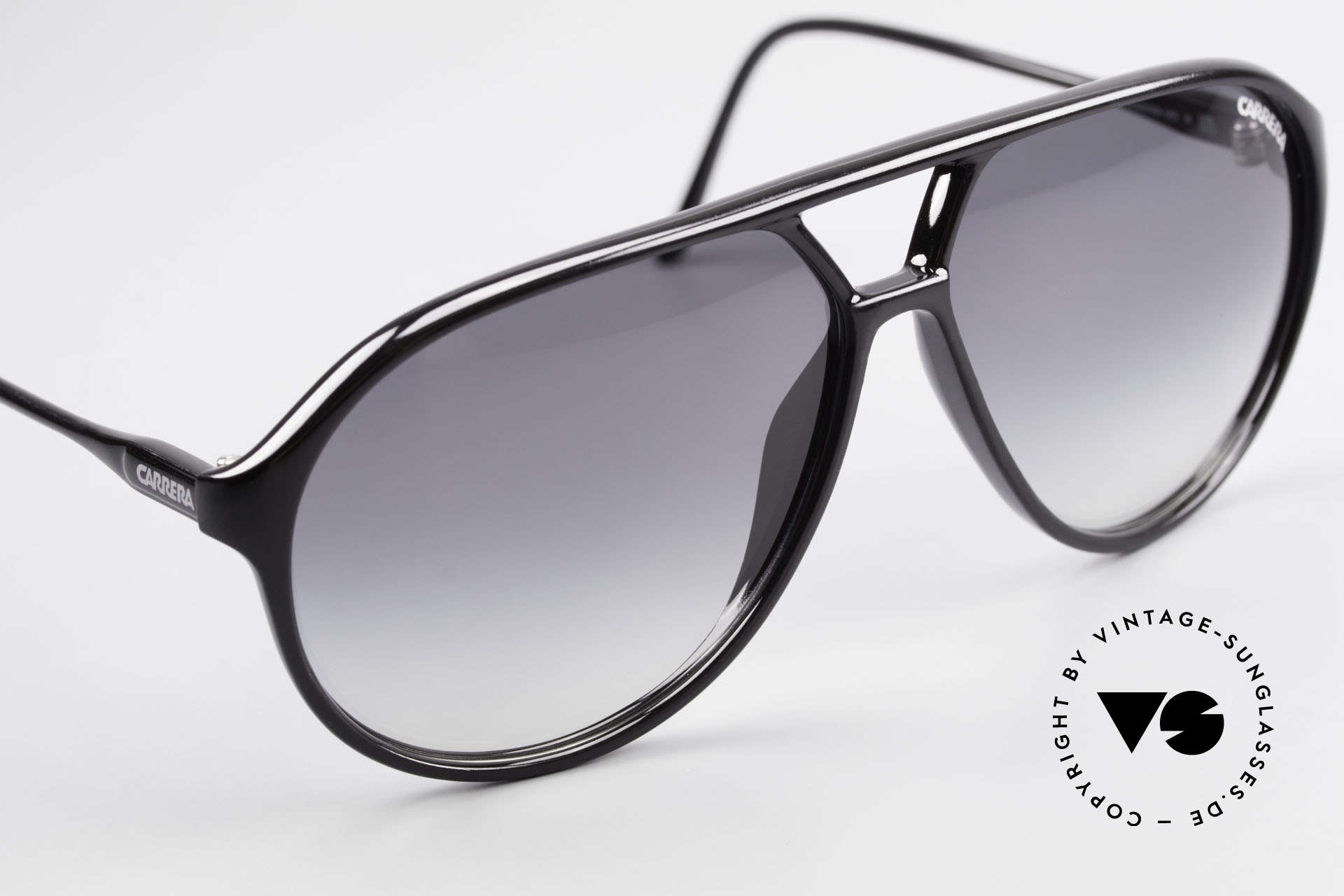 Carrera 5425 80's Shades With Extra Lenses, unworn, NOS (like all our rare vintage 80's sunglasses), Made for Men