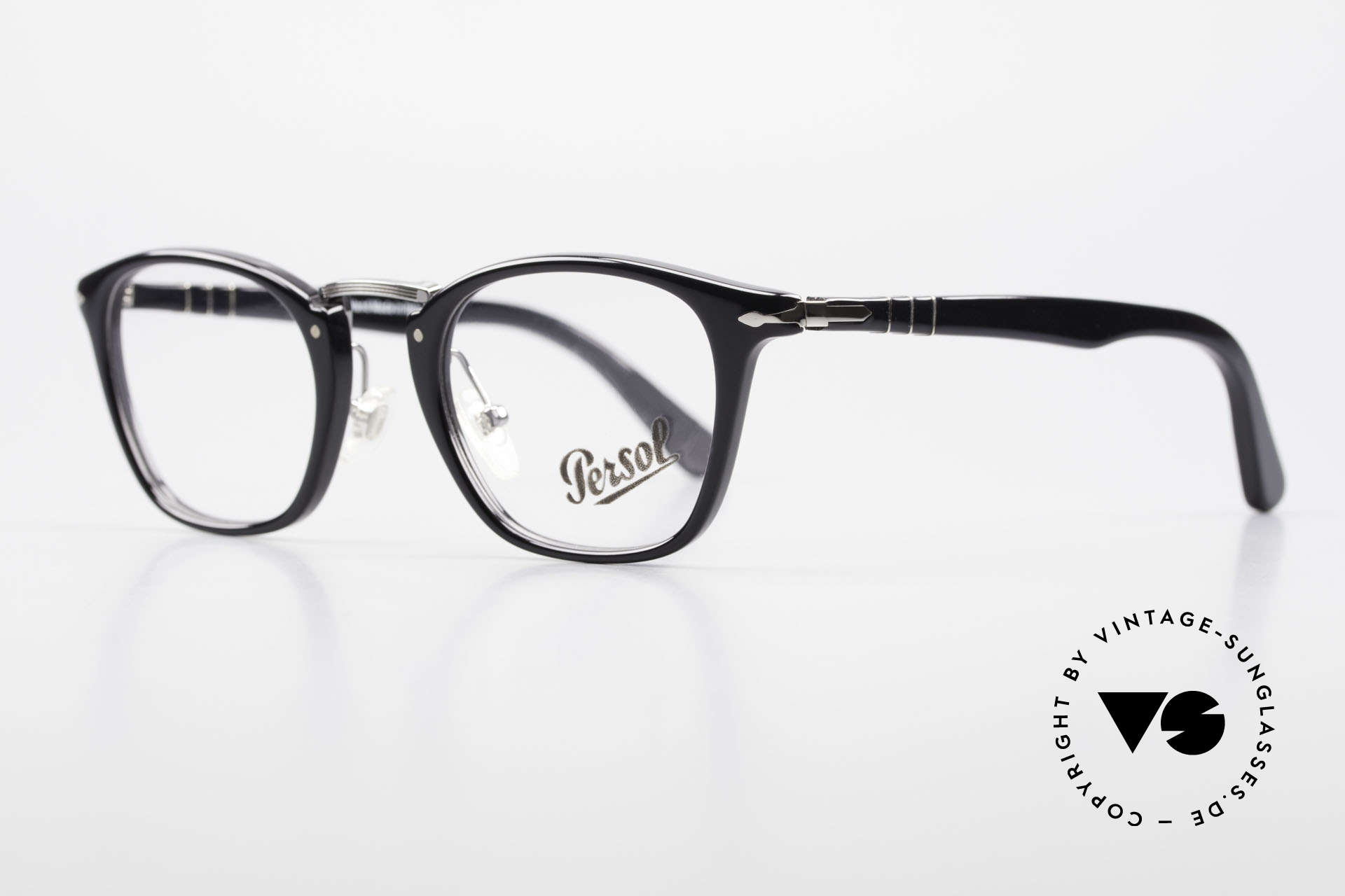 Persol 3109 Typewriter Edition Eyewear, unworn (like all our classic PERSOL eyeglasses), Made for Men and Women