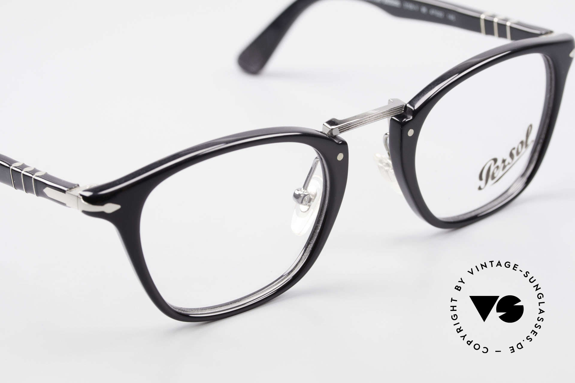 Persol 3109 Typewriter Edition Eyewear, DEMOS can be replaced with lenses of any kind, Made for Men and Women