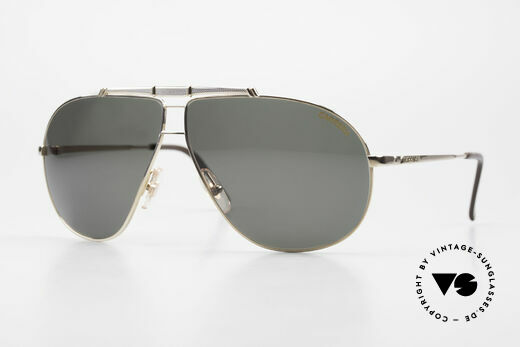 Carrera 5401 Large Aviator Shades Extra Lenses Details