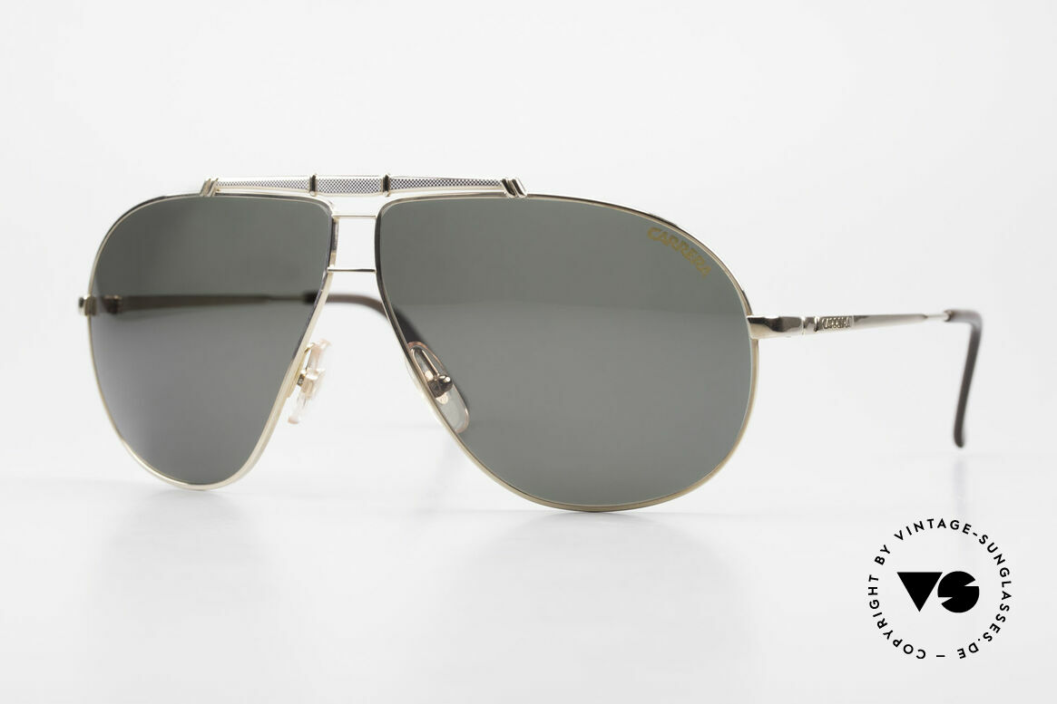Carrera 5401 Large Aviator Shades Extra Lenses, Carrera shades of the Carrera Collection from 1989/90, Made for Men