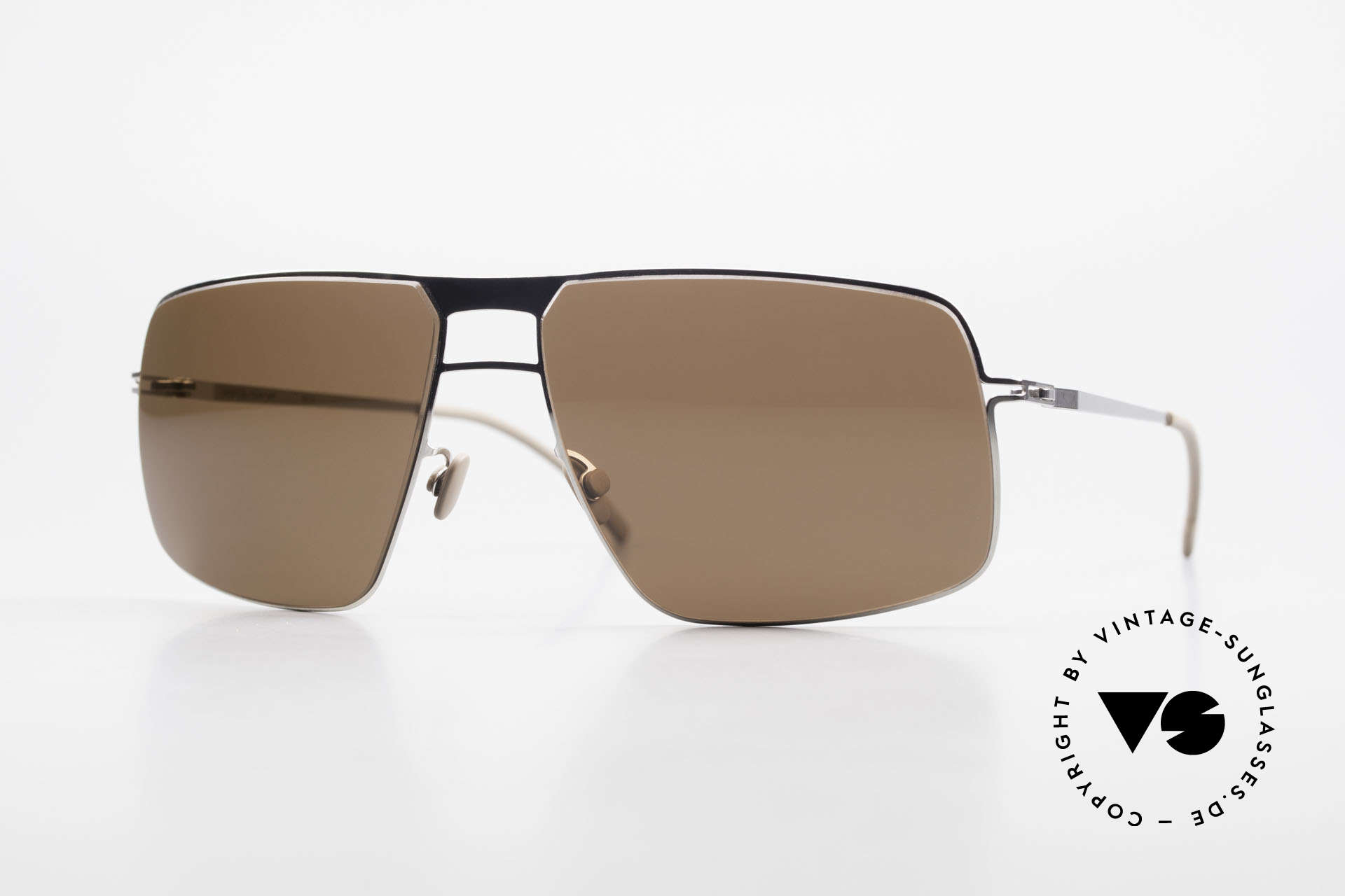 Mykita Leif Men's Designer Sunglasses 2011, original VINTAGE MYKITA men's sunglasses from 2011, Made for Men