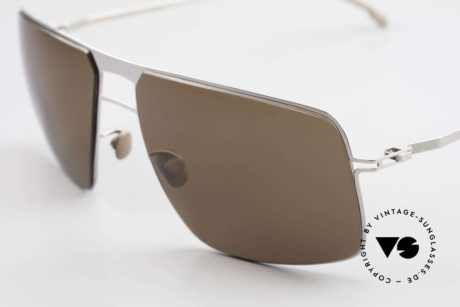 Mykita Leif Men's Designer Sunglasses 2011, innovative and flexible metal frame in Large to XL size, Made for Men