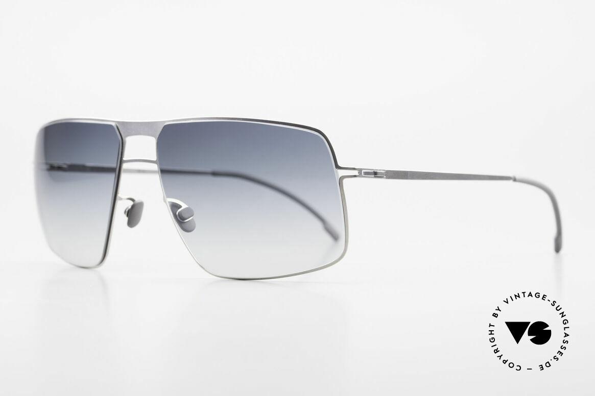 Mykita Leif Designer Men's Sunglasses 2011, Model Lite Sun Leif Pearl, gray-gradient, in size 62/15, Made for Men
