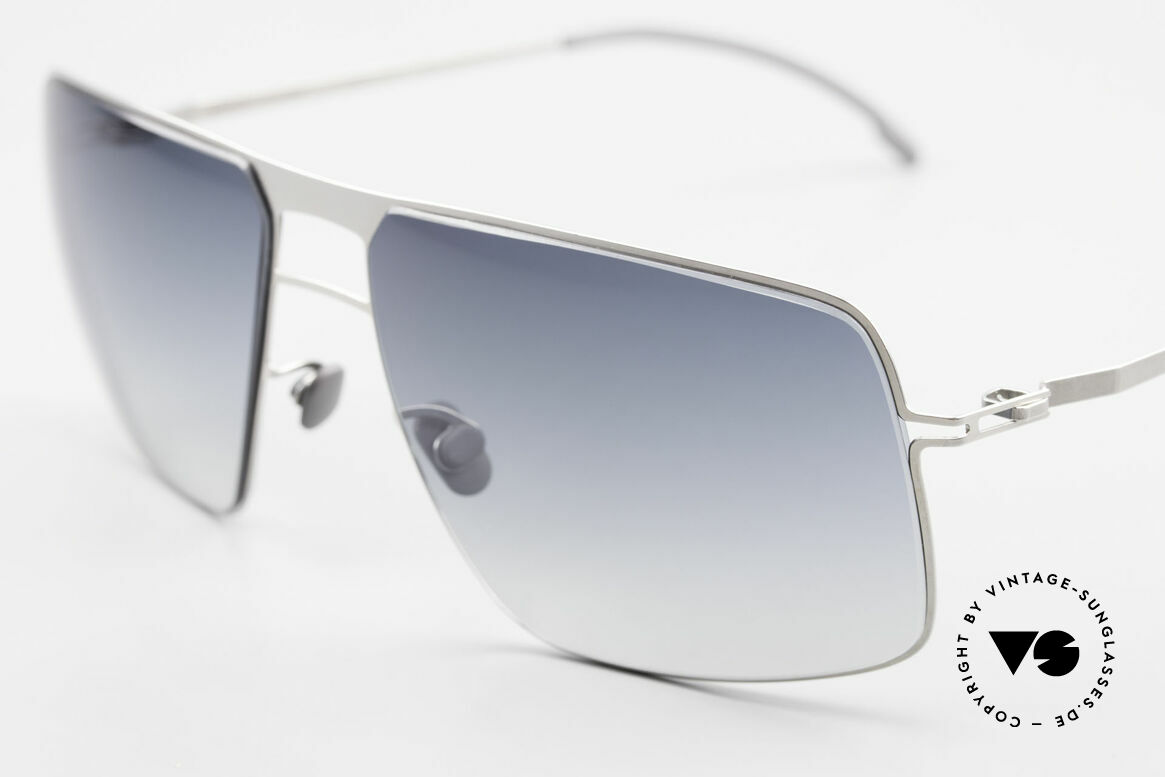 Mykita Leif Designer Men's Sunglasses 2011, innovative and flexible metal frame in Large to XL size, Made for Men