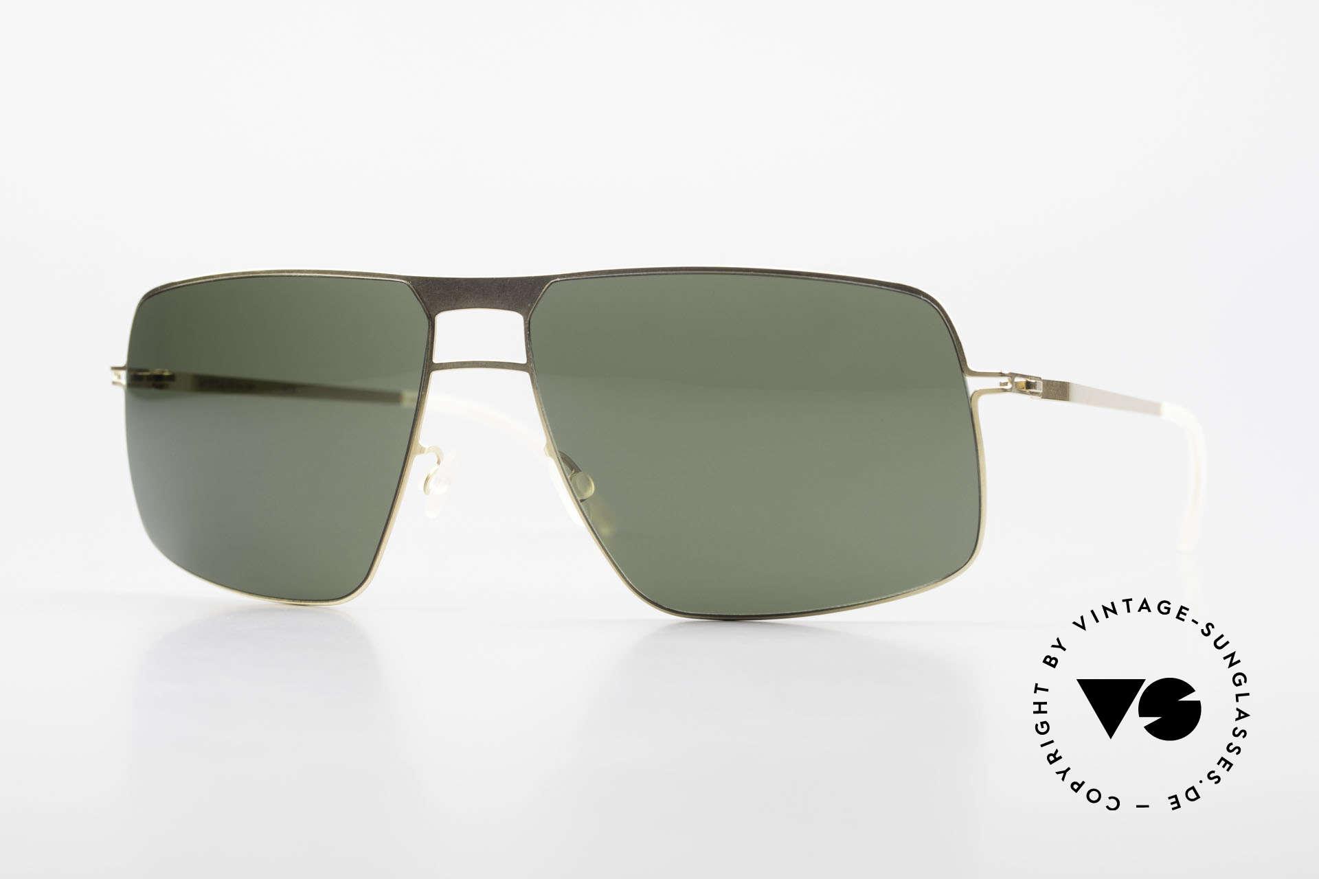 Mykita Leif Designer Shades Zeiss Lenses, original VINTAGE MYKITA men's sunglasses from 2011, Made for Men