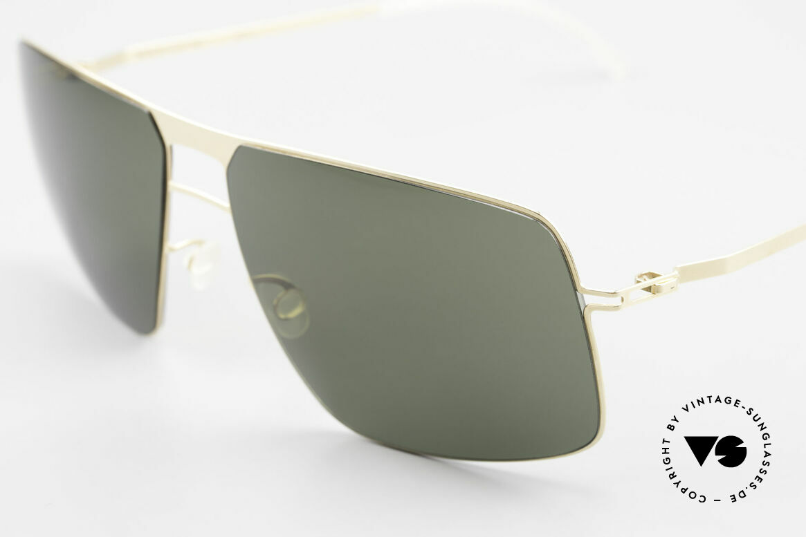Mykita Leif Designer Shades Zeiss Lenses, innovative and flexible metal frame in Large to XL size, Made for Men