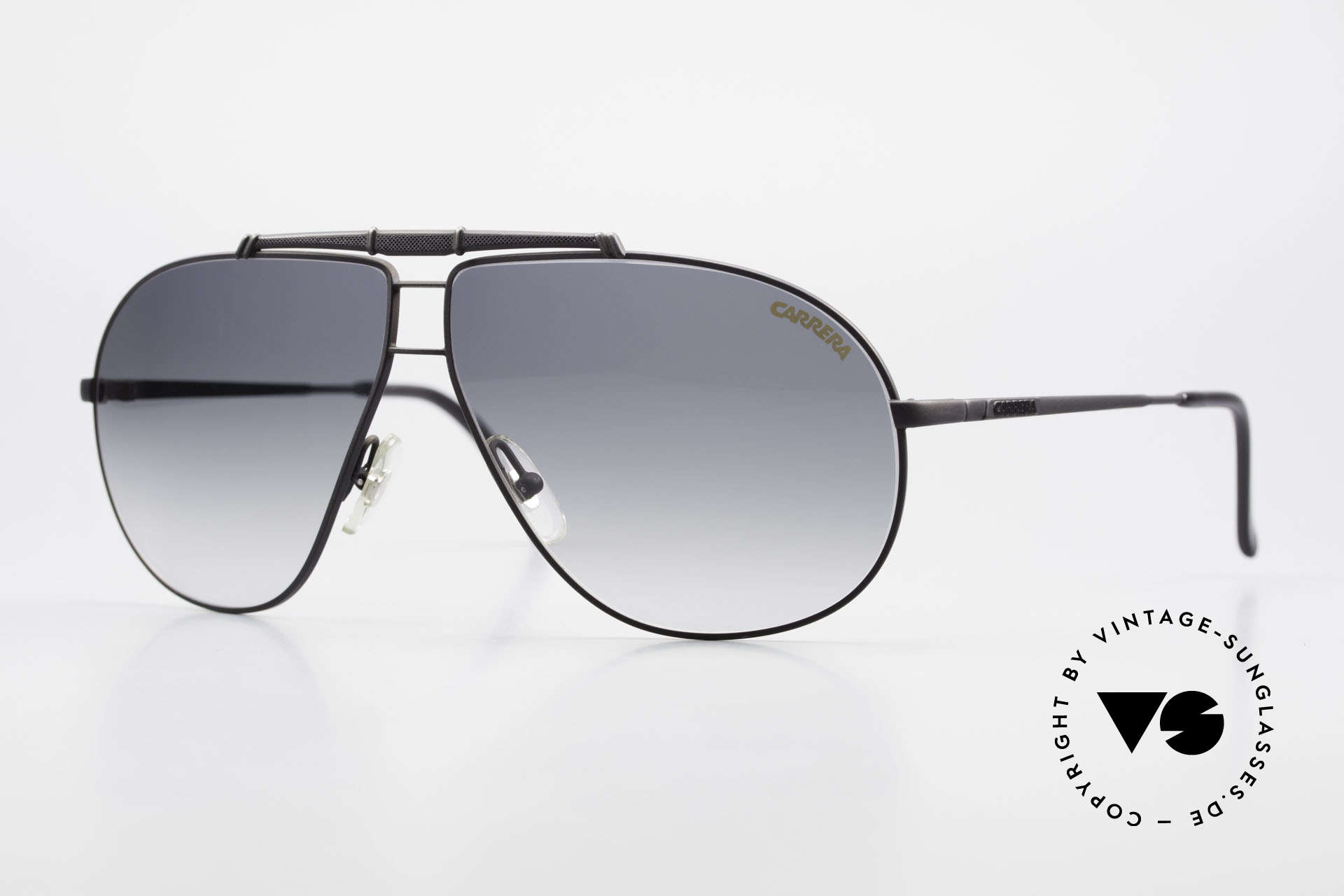 Carrera 5401 Large 80's Shades With Extra Lenses, Carrera shades of the Carrera Collection from 1989/90, Made for Men