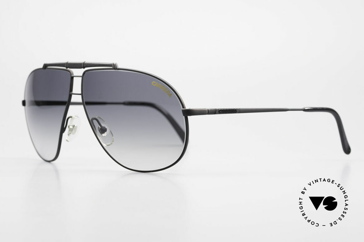 Carrera 5401 Large 80's Shades With Extra Lenses, vintage rarity comes with 1 pair replacement sun lenses, Made for Men