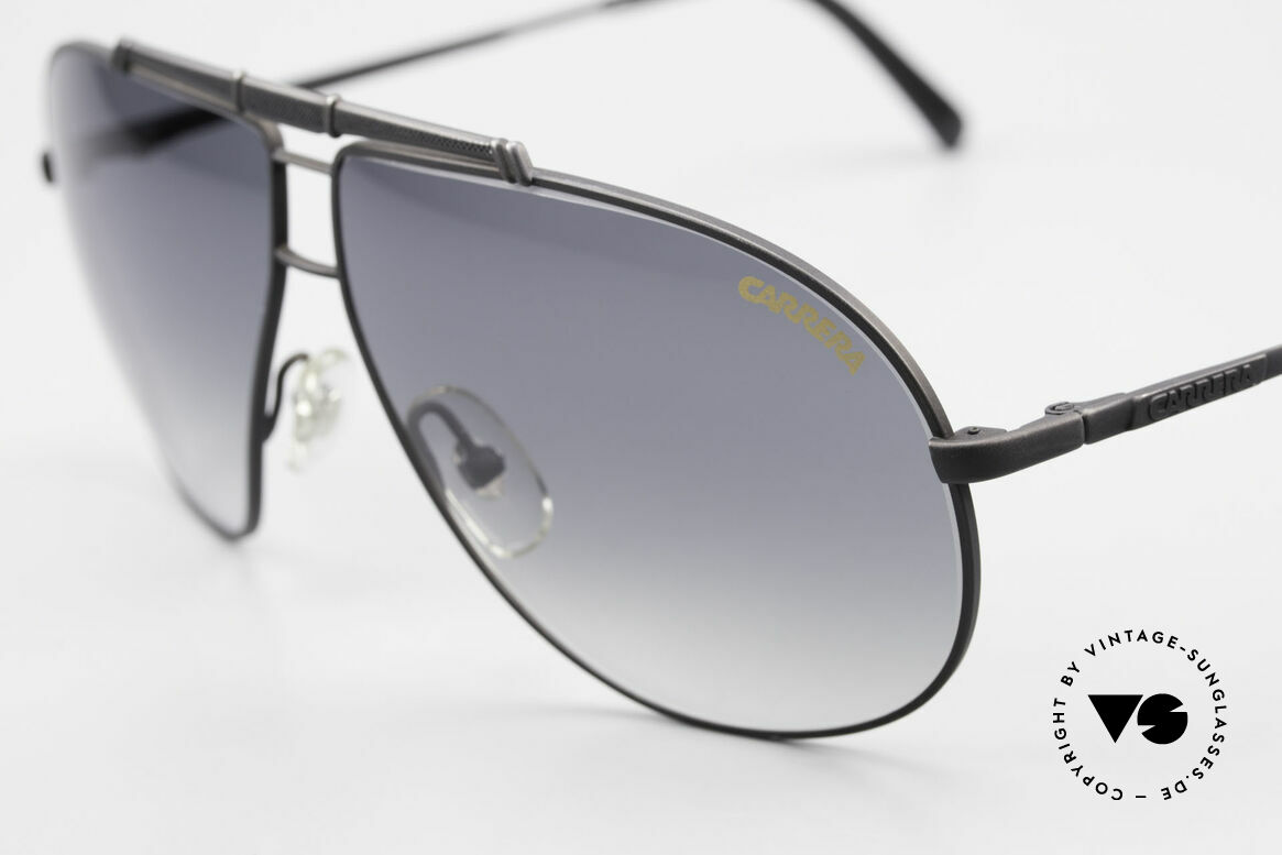 Carrera 5401 Large 80's Shades With Extra Lenses, 1x Carrera gray-gradient & 1x Carrera gray Ultrasight, Made for Men