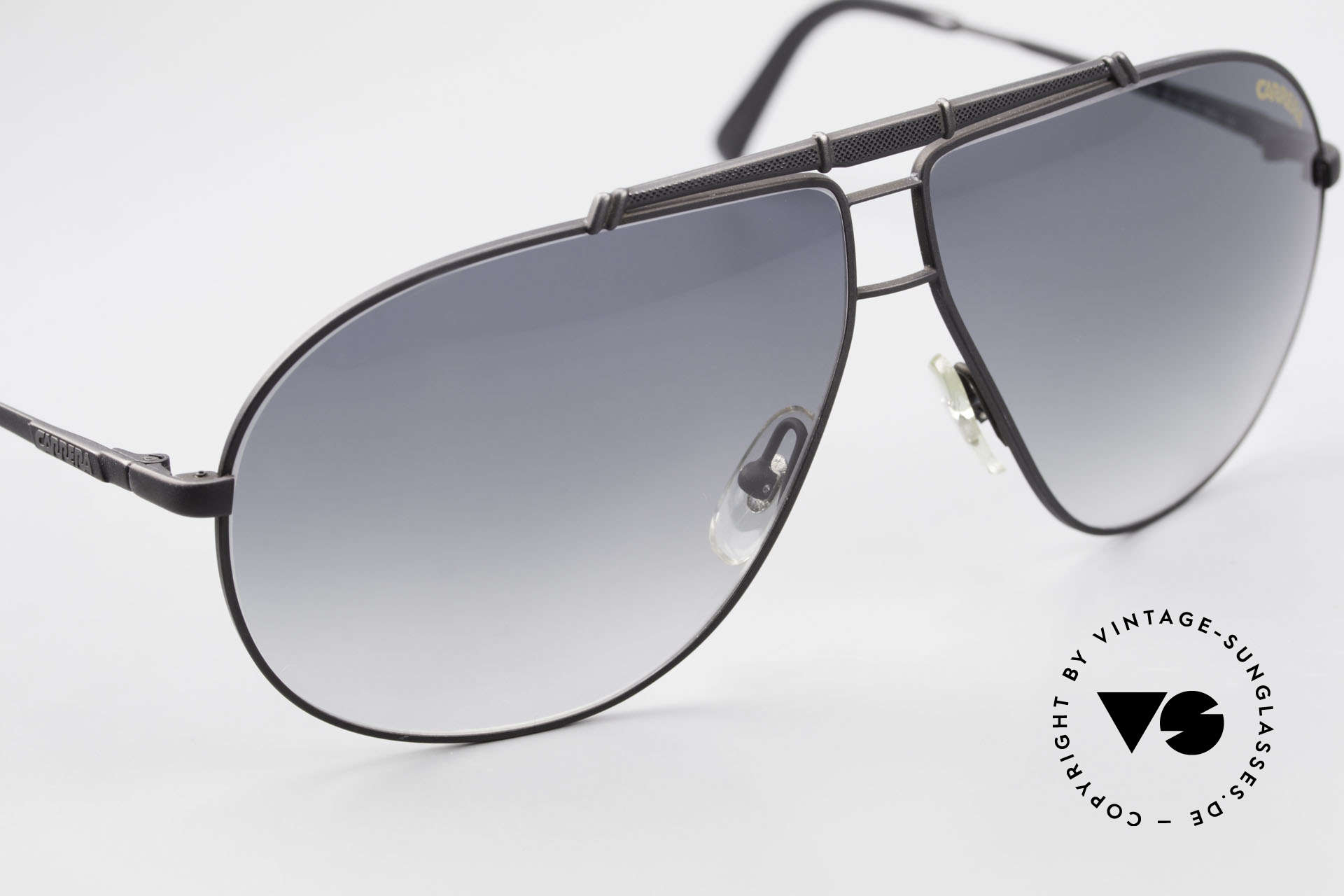 Carrera 5401 Large 80's Shades With Extra Lenses, unworn, NOS (like all our VINTAGE Carrera sunglasses), Made for Men