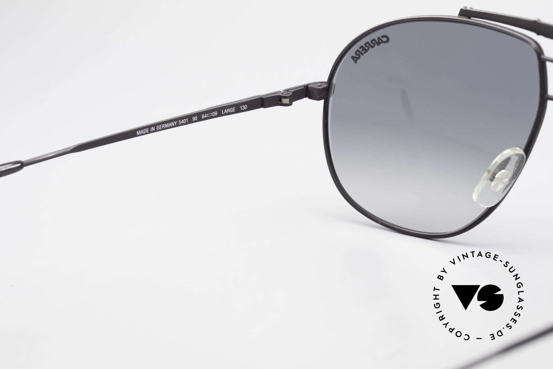 Carrera 5401 Large 80's Shades With Extra Lenses, NO RETRO SHADES, but a rare 30 years old ORIGINAL!, Made for Men