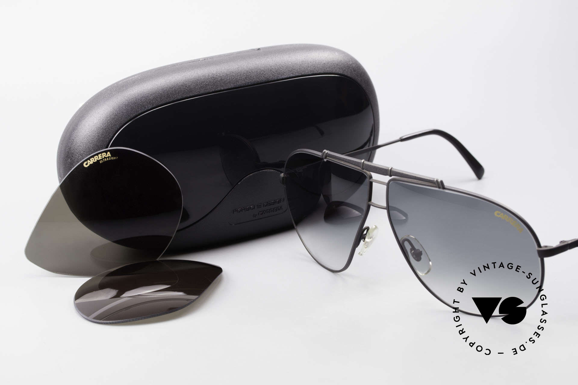 Carrera 5401 Large 80's Shades With Extra Lenses, Size: large, Made for Men