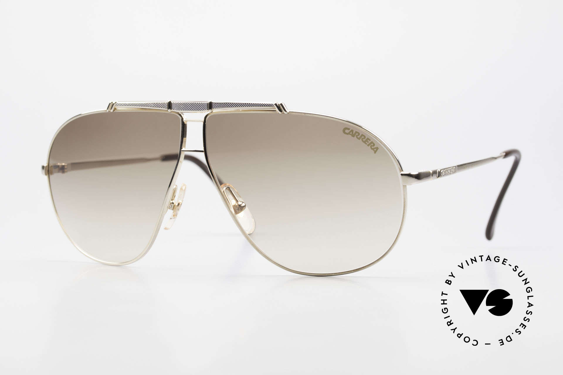 Carrera 5401 Small 80's Shades 3 Sets of Lenses, Carrera shades of the Carrera Collection from 1989/90, Made for Men and Women