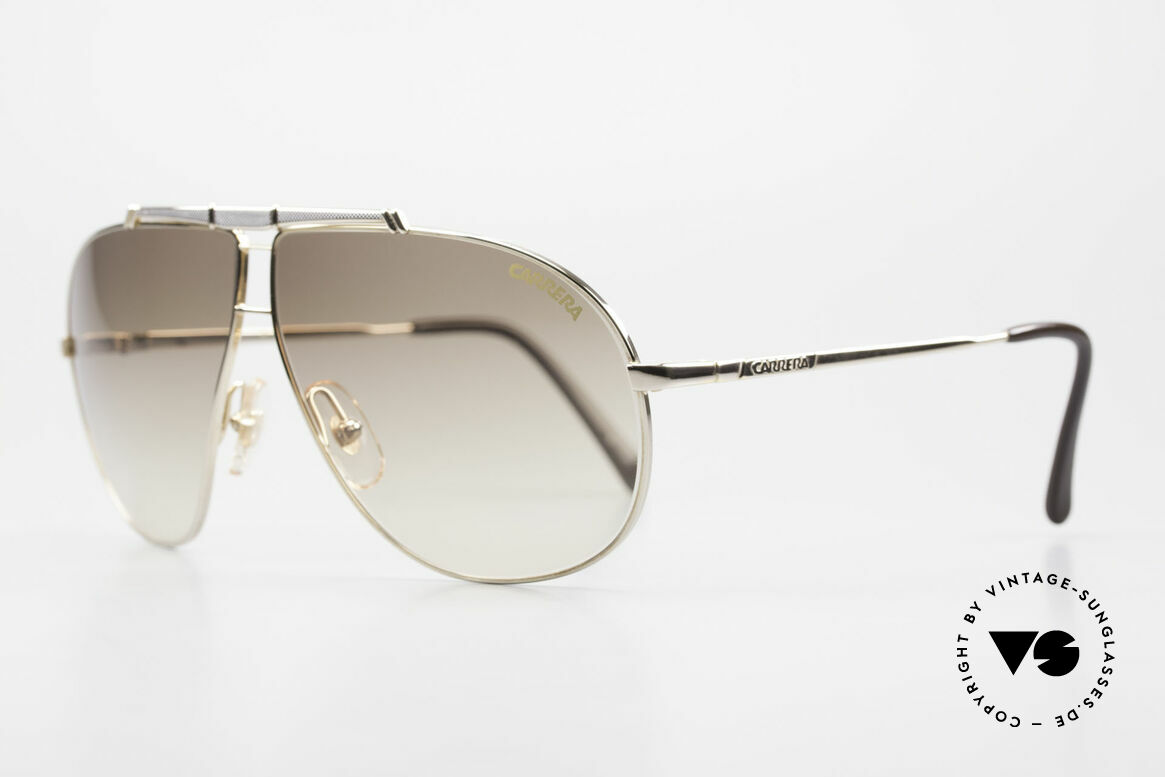 Carrera 5401 Small 80's Shades 3 Sets of Lenses, vintage rarity comes with two pairs replacement lenses, Made for Men and Women
