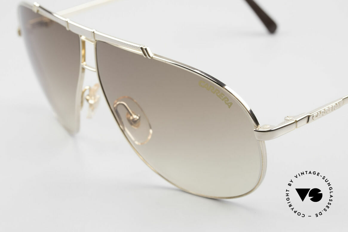 Carrera 5401 Small 80's Shades 3 Sets of Lenses, 1x brown-gradient, 1x gray-gradient, 1x gray Ultrasight, Made for Men and Women
