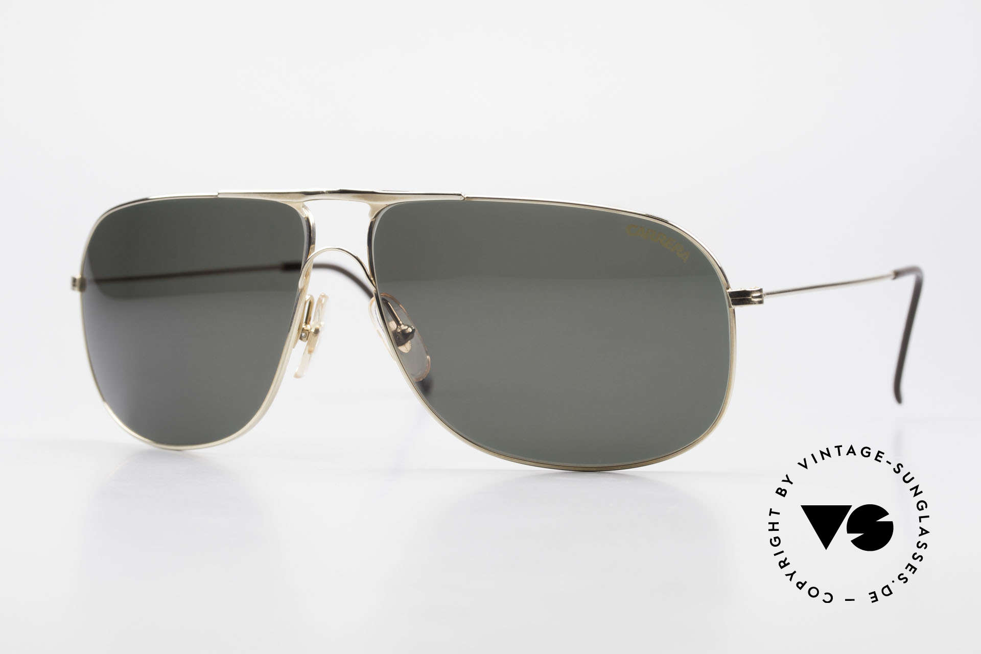 Carrera 5422 Shades With 3 Sets of Lenses, Carrera shades of the Carrera Collection from 1989/90, Made for Men