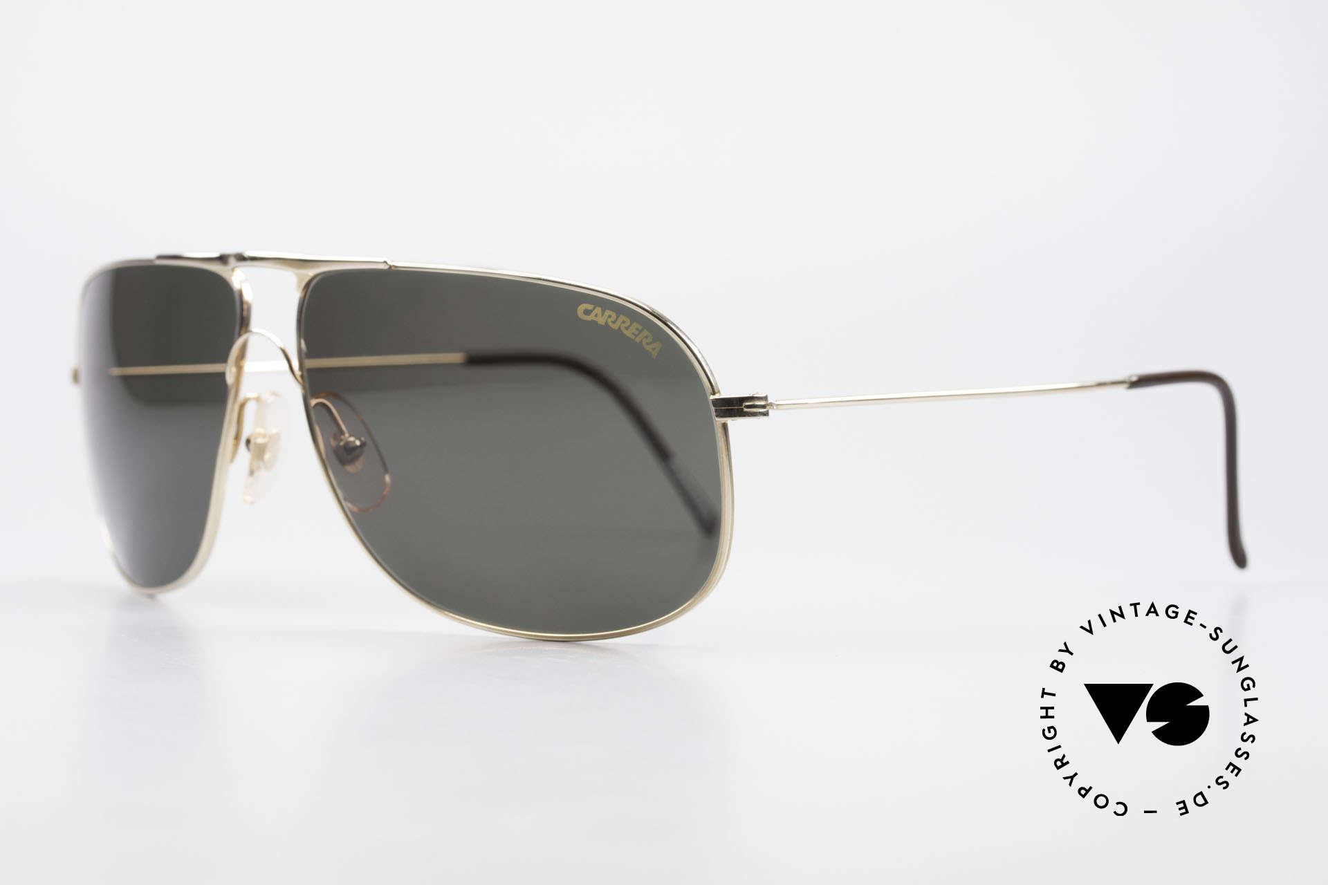 Carrera 5422 Shades With 3 Sets of Lenses, vintage rarity comes with two pairs replacement lenses, Made for Men