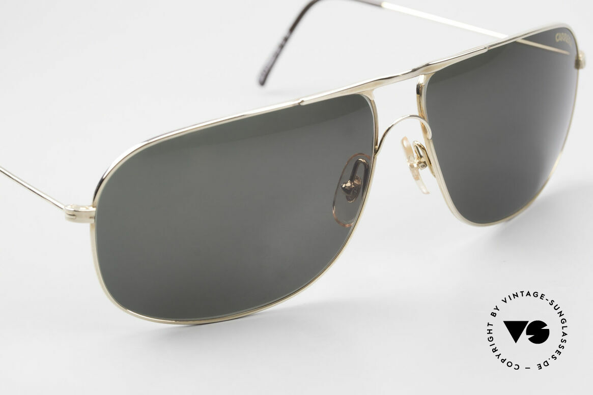 Carrera 5422 Shades With 3 Sets of Lenses, unworn, NOS (like all our VINTAGE Carrera sunglasses), Made for Men