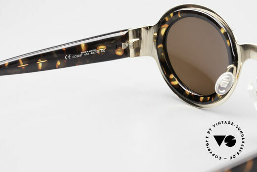 Christian Dior 2037 Round Ladies Sunglasses 90's, sun lenses could be replaced with prescription lenses, Made for Women