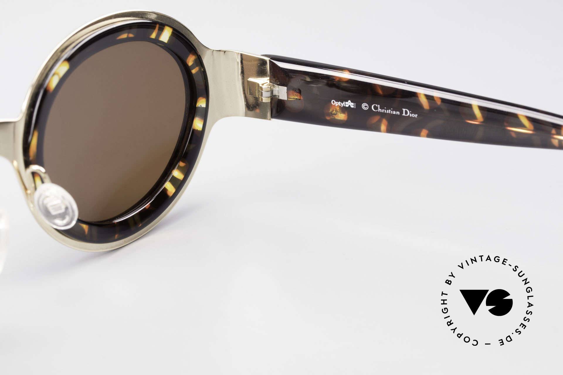 Christian Dior 2037 Round Ladies Sunglasses 90's, Size: large, Made for Women