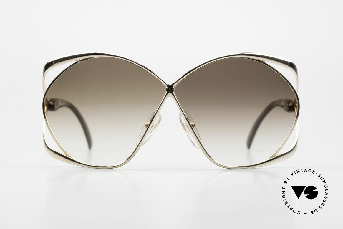 Christian Dior 2056 Butterfly 80's Sunglasses, the most beautiful model of the C. Dior Collection!, Made for Women
