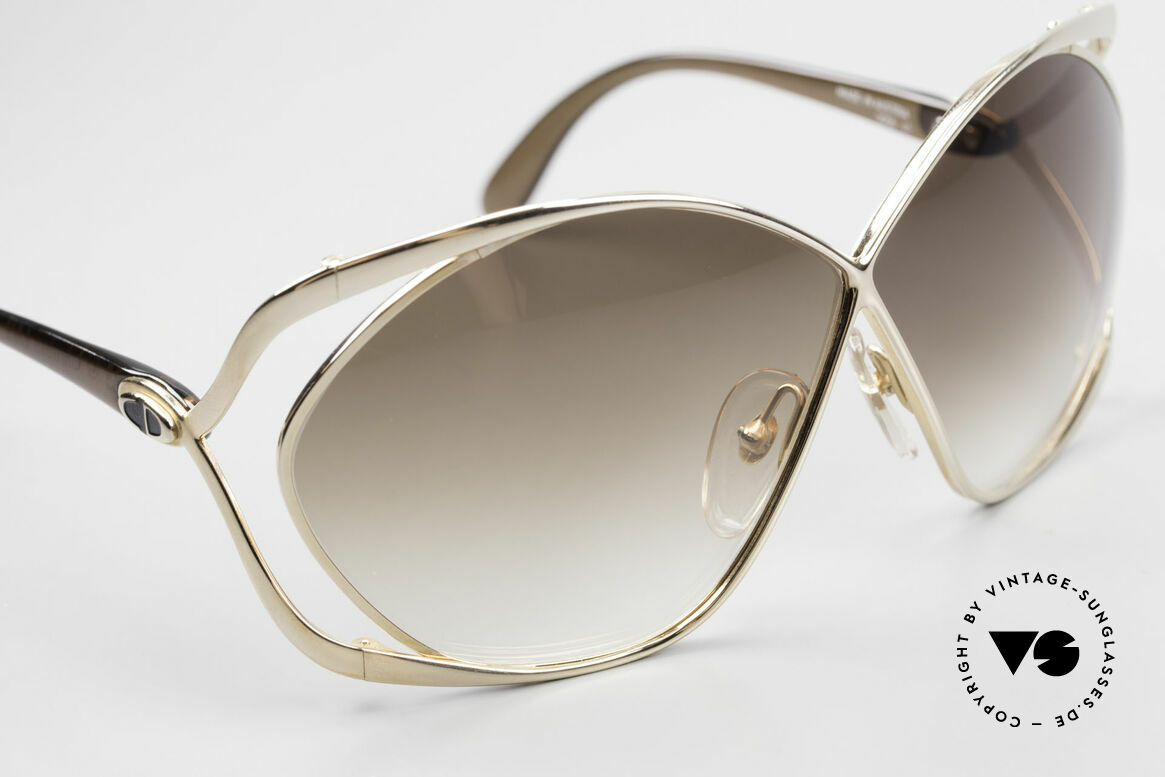 Christian Dior 2056 Butterfly 80's Sunglasses, unworn single item incl. original hard case by DIOR, Made for Women