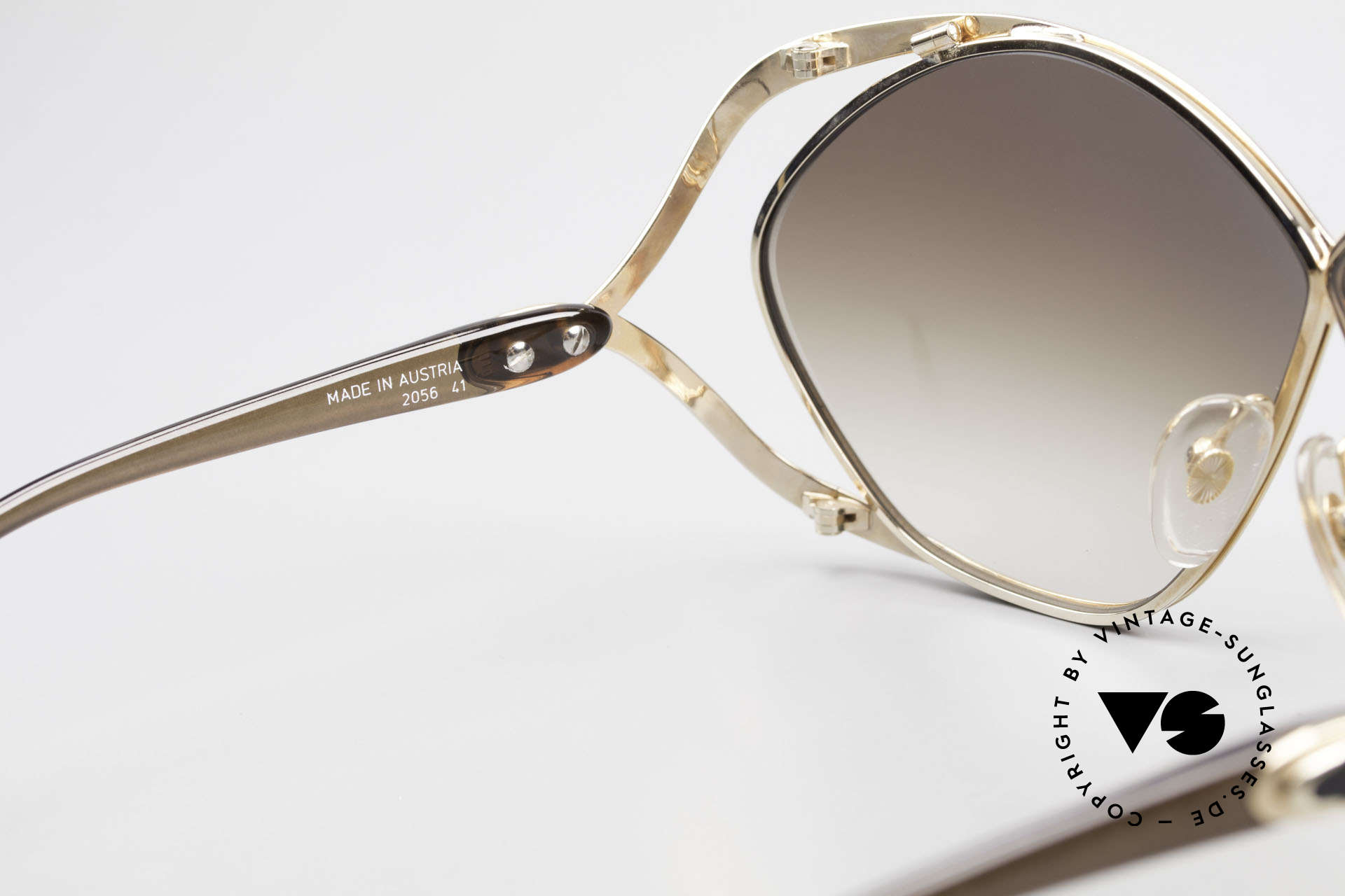 Christian Dior 2056 Butterfly 80's Sunglasses, NO RETRO SHADES, but a 30 years old unique rarity!, Made for Women