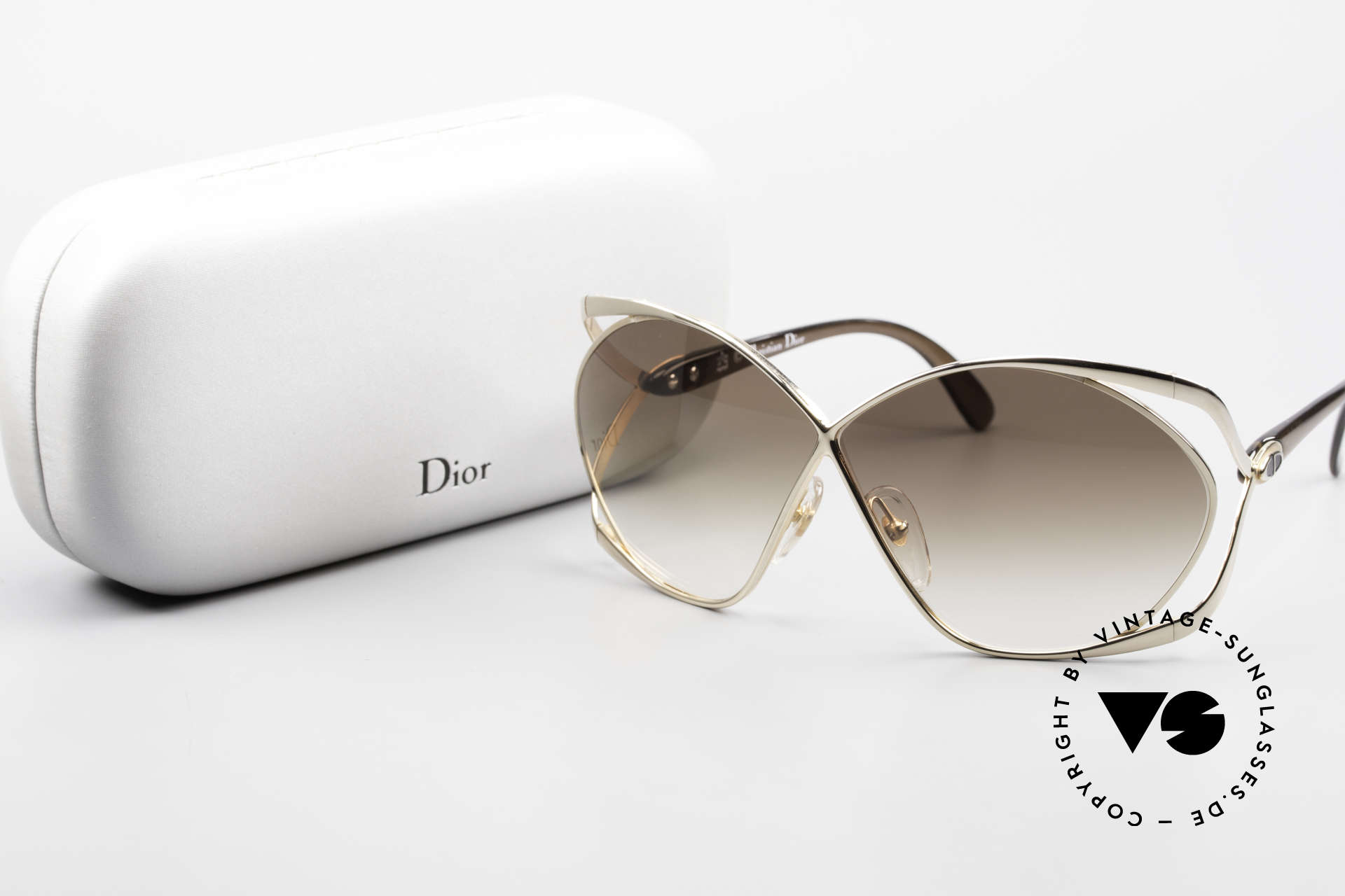 Christian Dior 2056 Butterfly 80's Sunglasses, Size: small, Made for Women